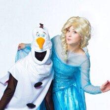 Эльза и Олаф